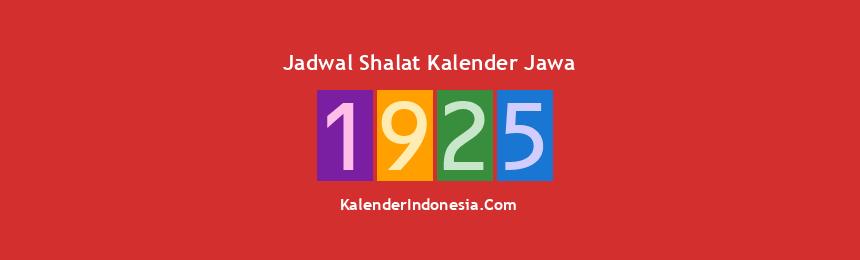 Banner 1925