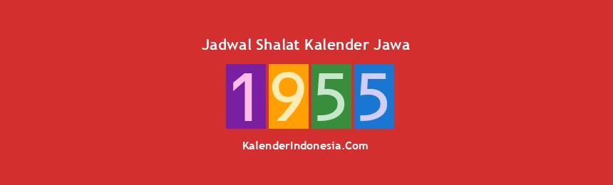 Banner 1955
