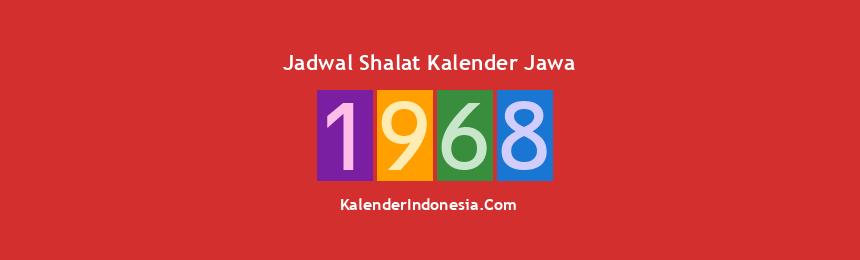 Banner 1968