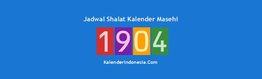 Banner 1904
