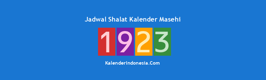 Banner 1923