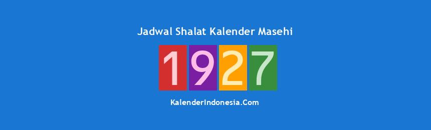 Banner 1927