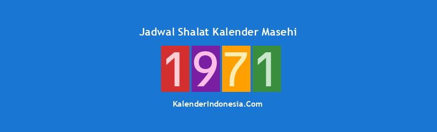 Banner 1971