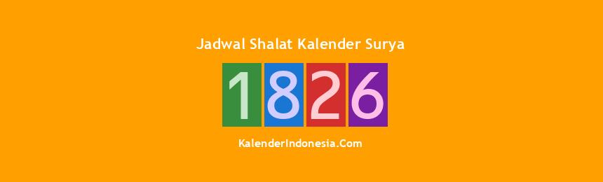 Banner 1826