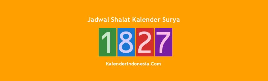 Banner 1827