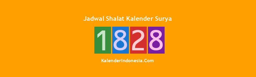 Banner 1828