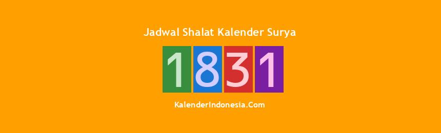 Banner 1831