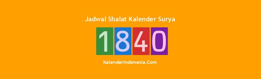 Banner 1840