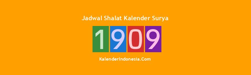 Banner 1909