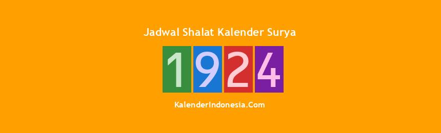 Banner 1924