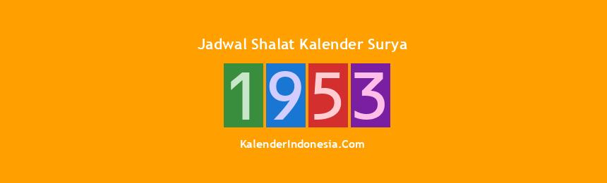 Banner 1953