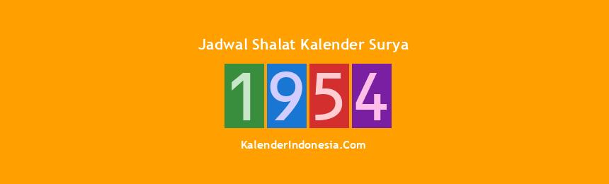 Banner 1954